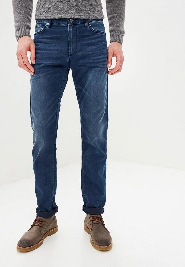 мужские прямые джинсы hugo boss, синие