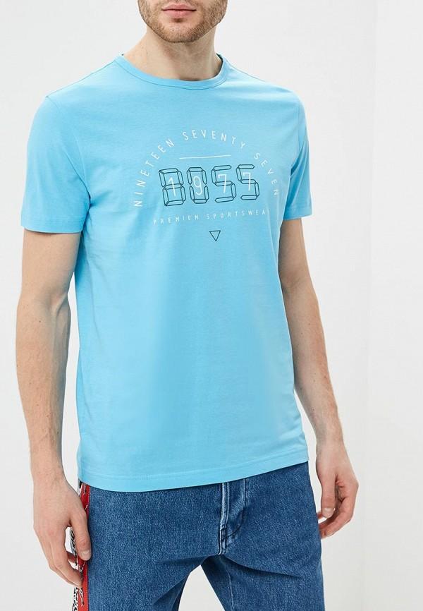 Футболка Boss Hugo Boss Boss Hugo Boss BO010EMDDBH5 футболка boss hugo boss boss hugo boss bo010embujd0