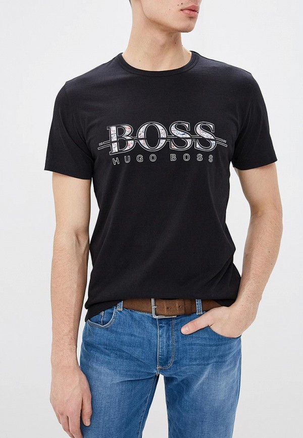 Футболка Boss Hugo Boss Boss Hugo Boss BO010EMECWW7 футболка boss hugo boss boss hugo boss bo456emahtm8