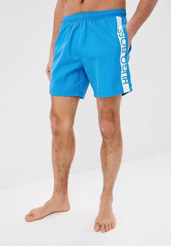 Фото - Шорты для плавания Boss голубого цвета