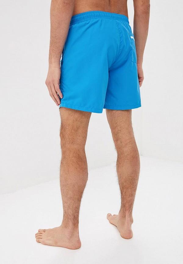 Фото 2 - Шорты для плавания Boss голубого цвета
