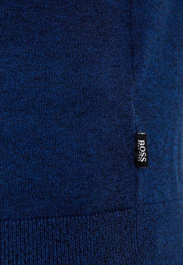 Фото 4 - мужское джемпер Boss Hugo Boss синего цвета