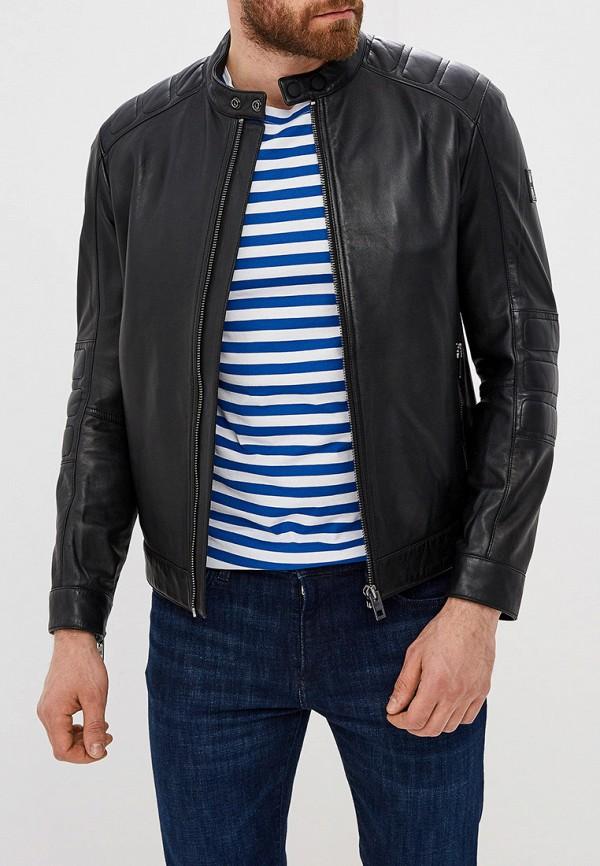 Куртка кожаная Boss Hugo Boss Boss Hugo Boss BO010EMFDIV3