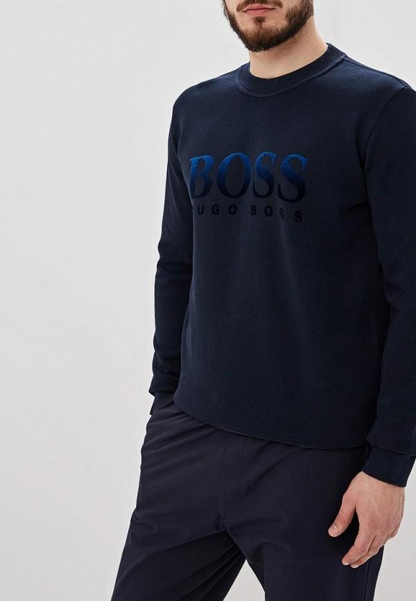 мужской свитшот hugo boss, синий