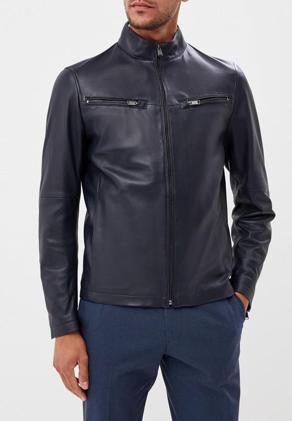 Куртка кожаная Boss Hugo Boss Boss Hugo Boss BO010EMFDJV3