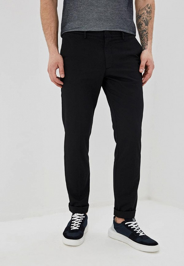 мужские повседневные брюки boss, черные