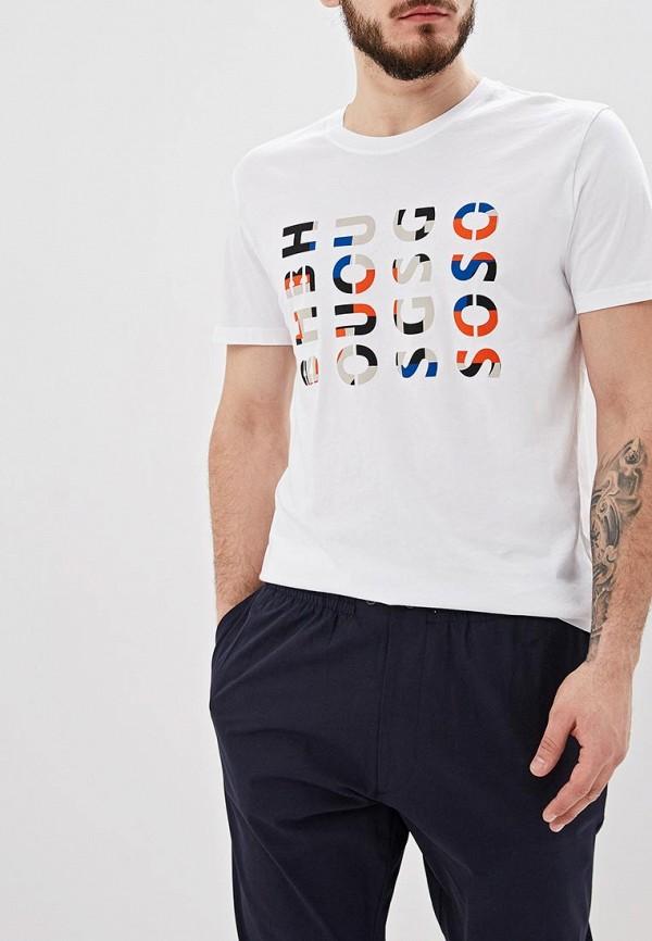 мужская футболка hugo boss, белая