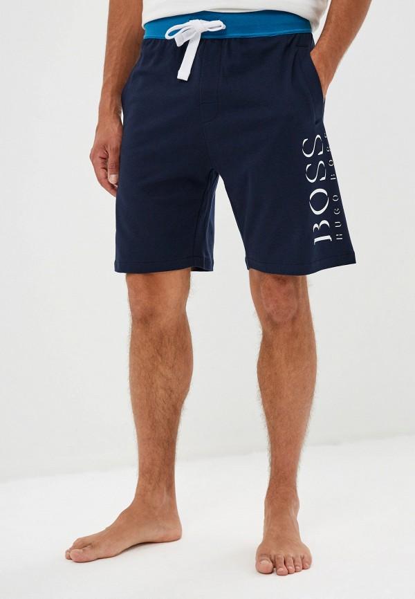 мужские шорты boss, синие