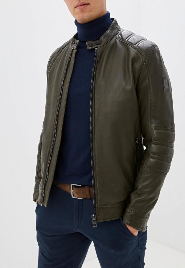 мужская куртка boss, хаки