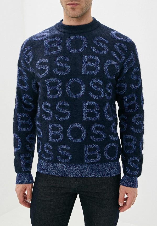мужской джемпер boss, синий