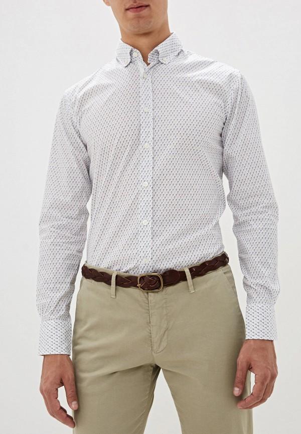 мужская рубашка boss, белая