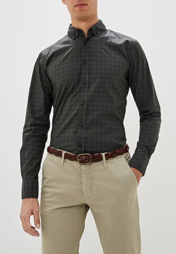 мужская рубашка boss, хаки