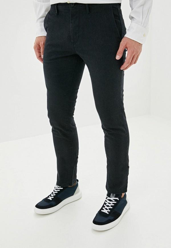 мужские зауженные джинсы boss, черные