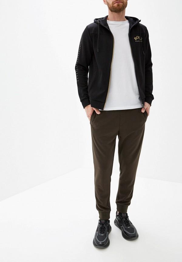 Фото 2 - мужскую толстовку Boss Hugo Boss черного цвета