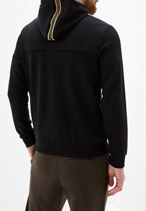 Фото 3 - мужскую толстовку Boss Hugo Boss черного цвета