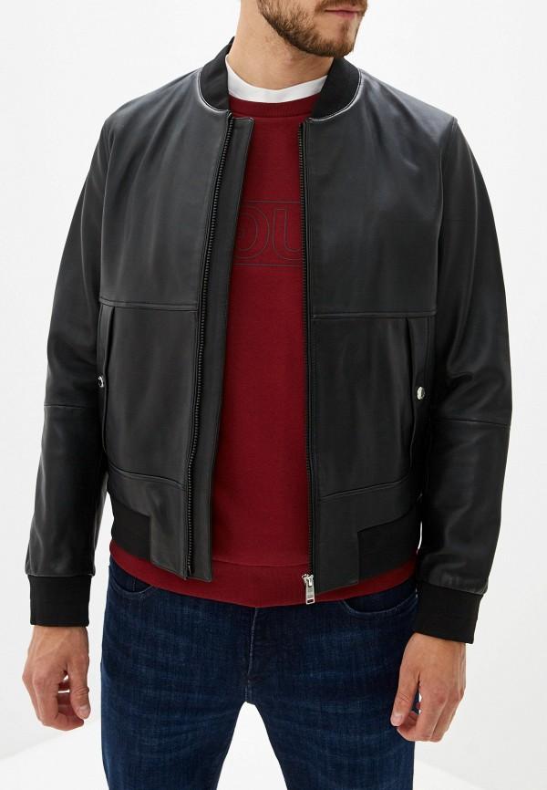 мужская куртка hugo boss, черная