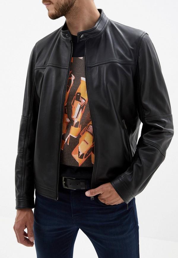 Куртка кожаная Boss Hugo Boss Boss Hugo Boss BO010EMFWRY8 стоимость