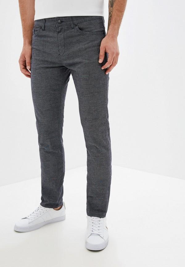 мужские повседневные брюки hugo boss, синие