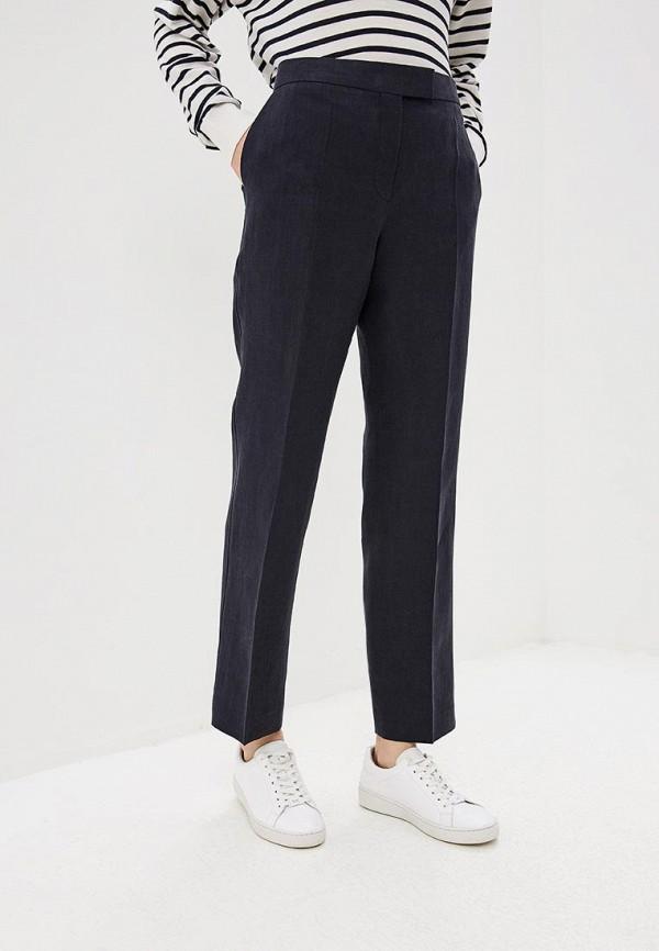 женские классические брюки boss, синие