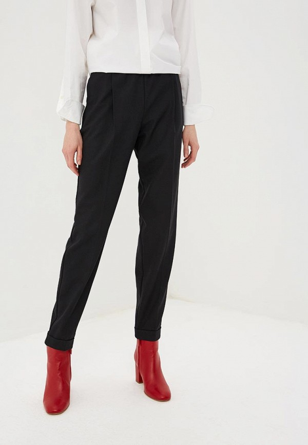 женские повседневные брюки hugo boss, черные