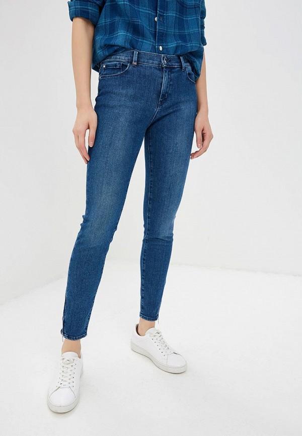 женские джинсы boss, синие