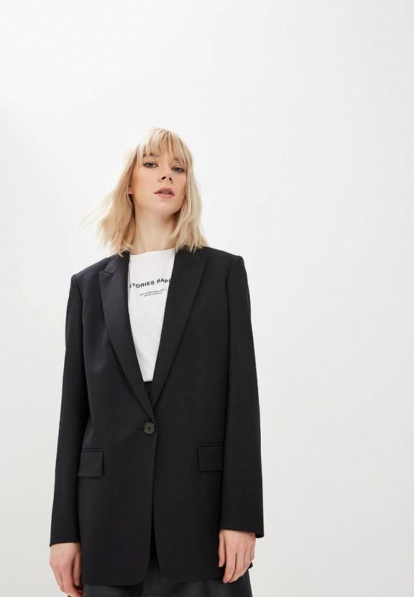 женский пиджак boss, черный