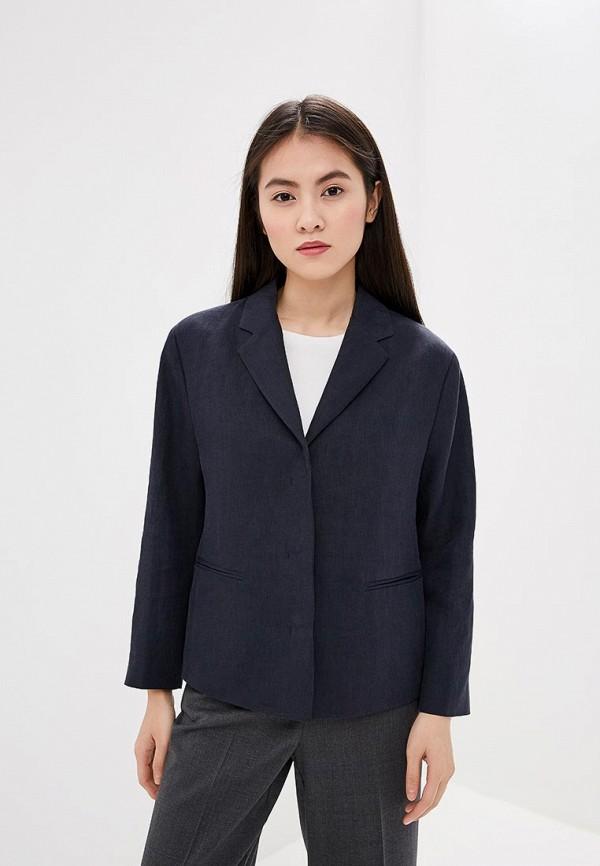 женский пиджак hugo boss, синий