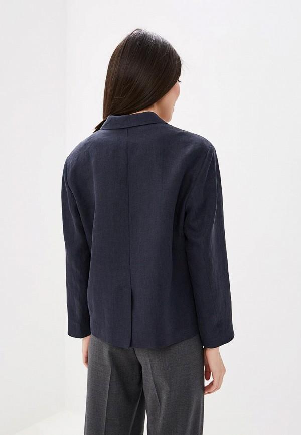 Фото 3 - Пиджак Boss синего цвета