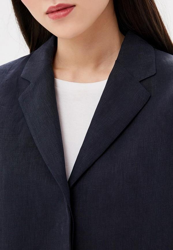 Фото 4 - Пиджак Boss синего цвета