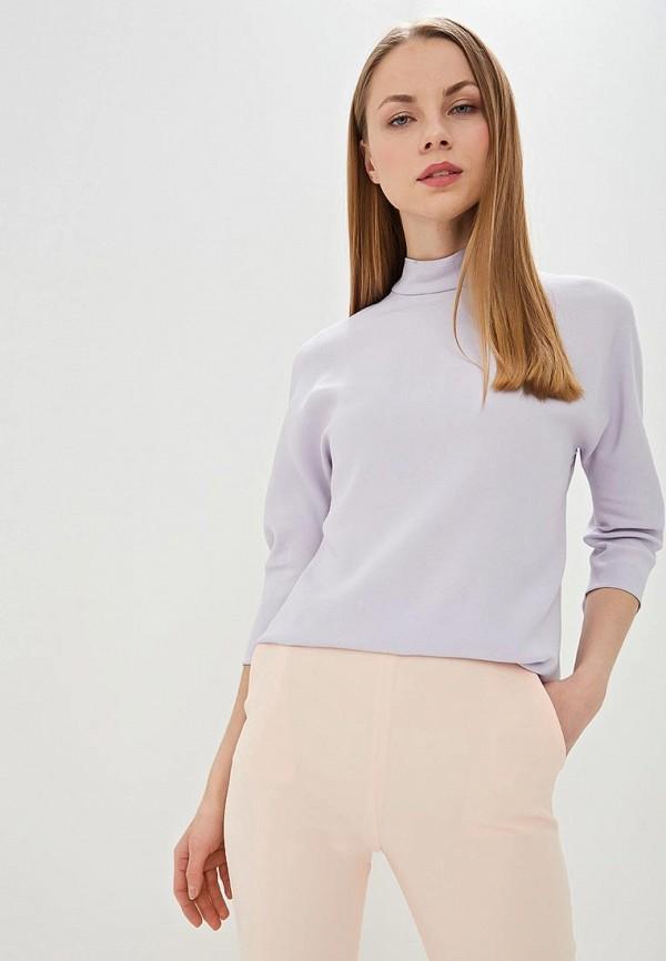 женская блузка hugo boss, фиолетовая