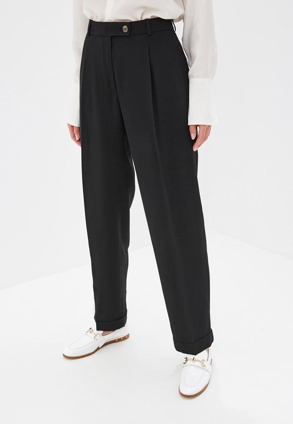 женские классические брюки boss, черные