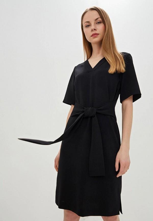 женское повседневные платье hugo boss, черное