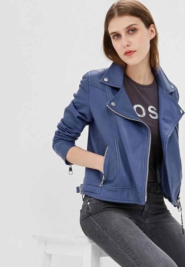 Куртка кожаная Boss Hugo Boss Boss Hugo Boss BO010EWFDMG5