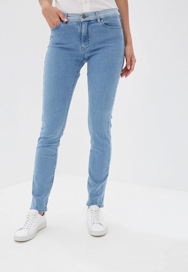 Фото - женские джинсы Boss голубого цвета