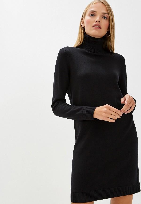 Фото - женское платье Boss Hugo Boss черного цвета