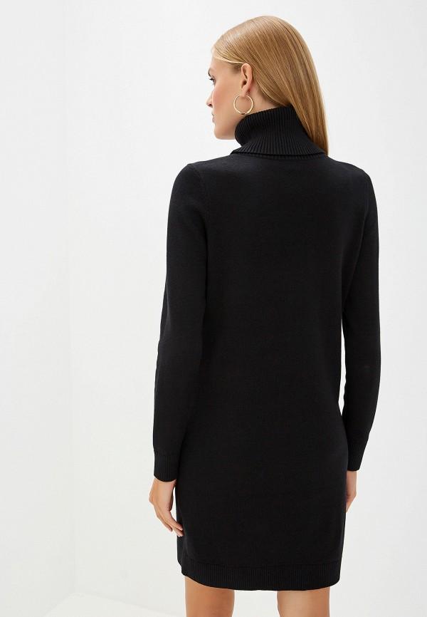 Фото 3 - женское платье Boss Hugo Boss черного цвета