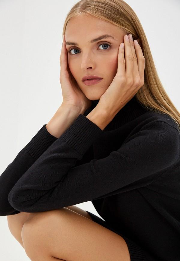 Фото 4 - женское платье Boss Hugo Boss черного цвета