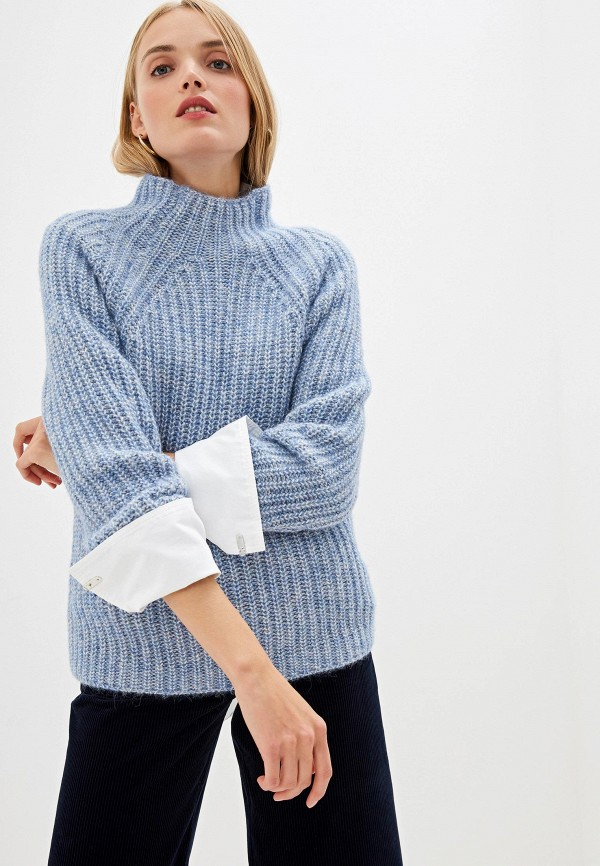 женский свитер boss, голубой