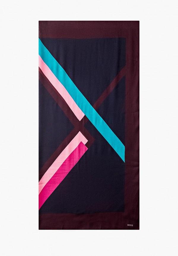 женский платок boss, разноцветный