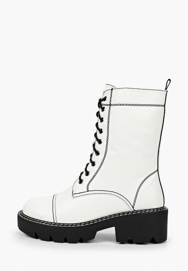 женские ботинки bona dea, белые