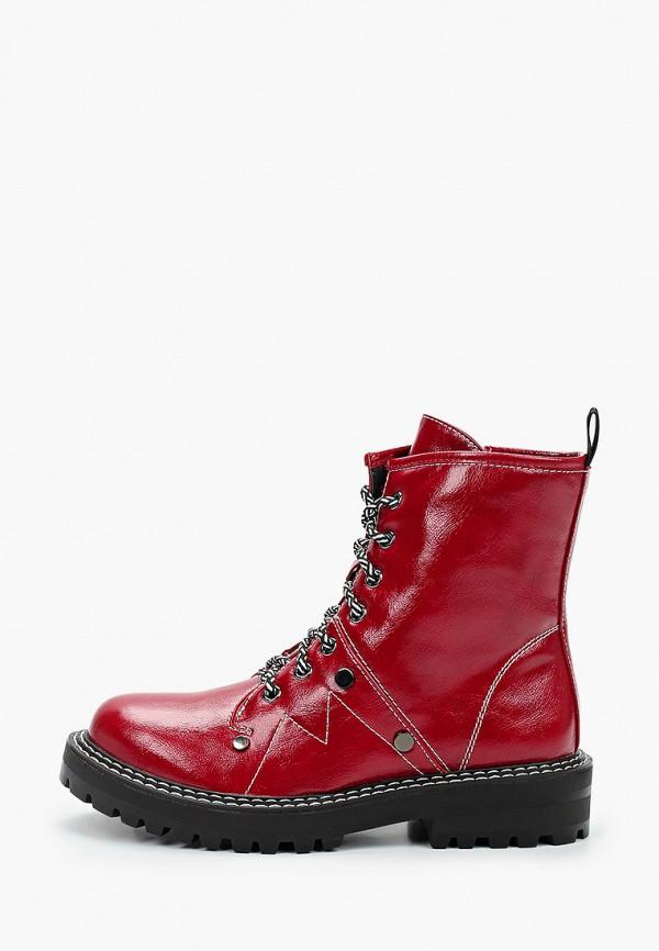 женские ботинки bona dea, красные