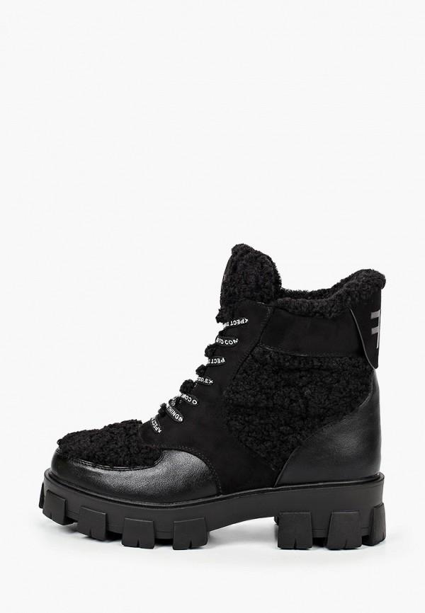 женские ботинки bona dea, черные