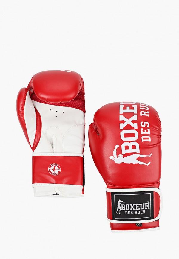 женские перчатки boxeur des rues, красные