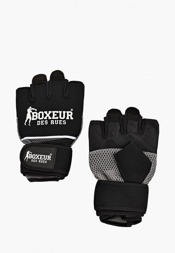 женские перчатки boxeur des rues, черные