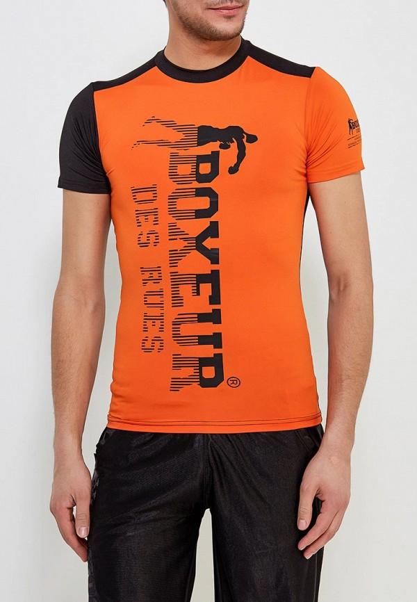 мужская футболка с коротким рукавом boxeur des rues, оранжевая