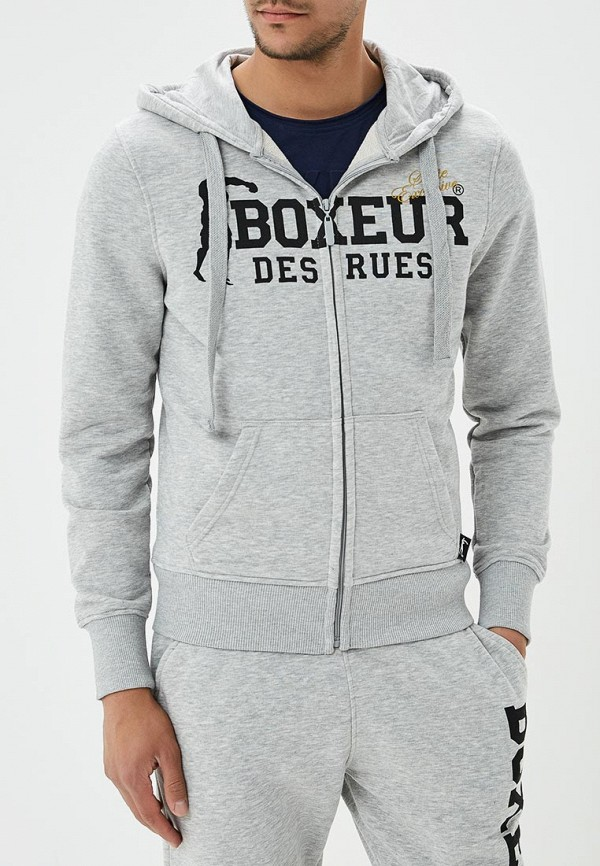 Толстовка Boxeur Des Rues Boxeur Des Rues BO030EMBMWX3 boxeur des rues футболкa boxeur des rues bxe2313zblack