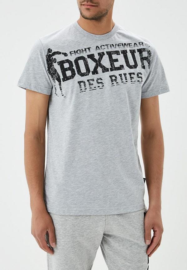 мужская футболка boxeur des rues, серая