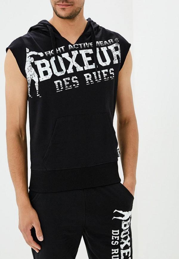 мужские худи boxeur des rues, черные