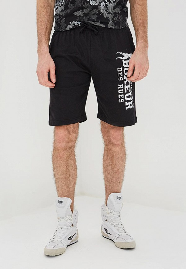 мужские шорты boxeur des rues, черные