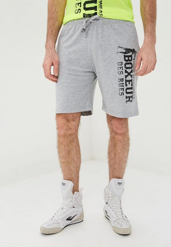 мужские шорты boxeur des rues, серые